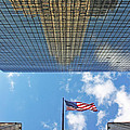 Chrysler Building Reflections Vertical 2 by Nishanth Gopinathan