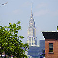 Chrysler Building View by Bill Cannon
