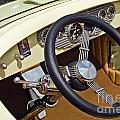 Chrysler Interior Steering Wheel Classic Car American Made by David Zanzinger