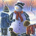 Chubby Snowman  by Vickie Wade