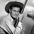 Chuck Connors - The Rifleman by Mountain Dreams