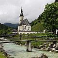 Church - Pfarrkirche St. Sebastian by Christiane Schulze Art And Photography