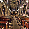 Church Aisle by Emily Kay