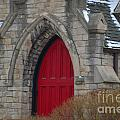 Church And The Red Door by Randy J Heath