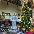 Church At Christmas V7 by Ian Mitchell