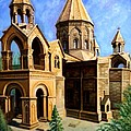 Church At Etchmiazin by Raffi Jacobian