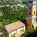 Church At Eze by Phill Petrovic