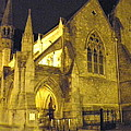 Church At Night by William Haggart