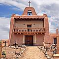 Church At San Ildefonso by Nikolyn McDonald
