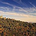 Church At Santo Pietra Di Tenda In Corsica by Jon Ingall