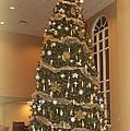 Church Christmas Tree by Linda Covino