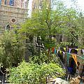 Church Courtyard by Katerina Naumenko