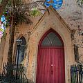Church Door  by Dale Powell