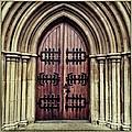 Church Door by Neil Overy