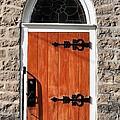 Church Door by Valerie Kirkwood