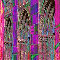 Church Doors Pop Art by Phyllis Denton