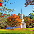 Church In Autumn by Evan Peller