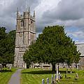 Church In Avebury Uk by Robert Talbot