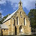 Church In Berrima A Town In Regional New South Wales Australia by Martin Berry