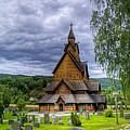 Church In Norway by Mountain Dreams