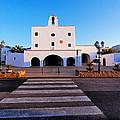 Church In Sant Josep Town On Ibiza Island by Karol Kozlowski