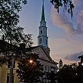 Church In Savannah by John McGraw
