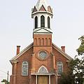 Church In Sprague Washington by Cathy Anderson