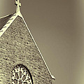 Church In Tacoma Washington 3 by Cathy Anderson