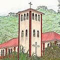 Church In The Jungle by Lew Davis