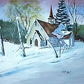 Church In The Wildwood by Clifford Knoll