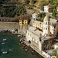 Church In Vernazza  by George Oze