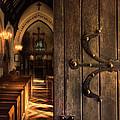 Church Interior by Jill Battaglia