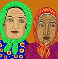 Church Ladies by Sarah Loft
