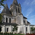 Church - Loches - France by Christiane Schulze Art And Photography