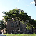 Church Of Hagia Eirene I - First Courtyard Topkapi Palace by Christiane Schulze Art And Photography
