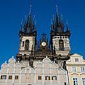 Church Of Lady Before Tyn by Sarka Olehlova