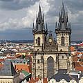 Church Of Our Lady Before Tyn - Prague by Ann Horn