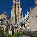Church Of Our Lady In Bruges by Jaroslav Frank