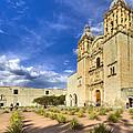 Church Of Santo Domingo De Guzman In Oaxaca by Mark E Tisdale