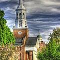 Church Of The Abiding Presence 1a - Lutheran Theological Seminary At Gettysburg Spring by Michael Mazaika