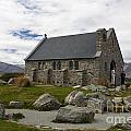 Church Of The Good Shepherd Lake Tekapo New Zealand by Jason O Watson