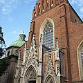 Church Of The Holy Trinity In Krakow by Artur Bogacki
