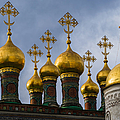 Church Of The Nativity Of Moscow Kremlin by Alexander Senin