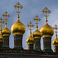 Church Of The Nativity Of Moscow Kremlin - Square by Alexander Senin