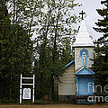 Church On Alaskan Highway by David Arment