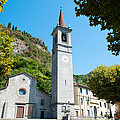 Church On Main Square, Varenna, Lake by Panoramic Images