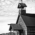 Church On The Mount In Black And White by Lee Craig