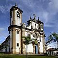 Church Ouro Preto Brazil 5 by Bob Christopher