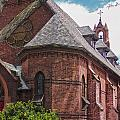 Church Red Door by Eric Swan