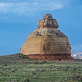 Church Rock On The Road To Moab by John Haldane